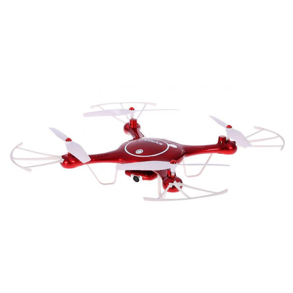 Квадрокоптер Syma X5UW, красный