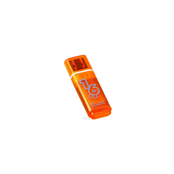 flash накопитель Smartbuy 16GB Glossy series Orange