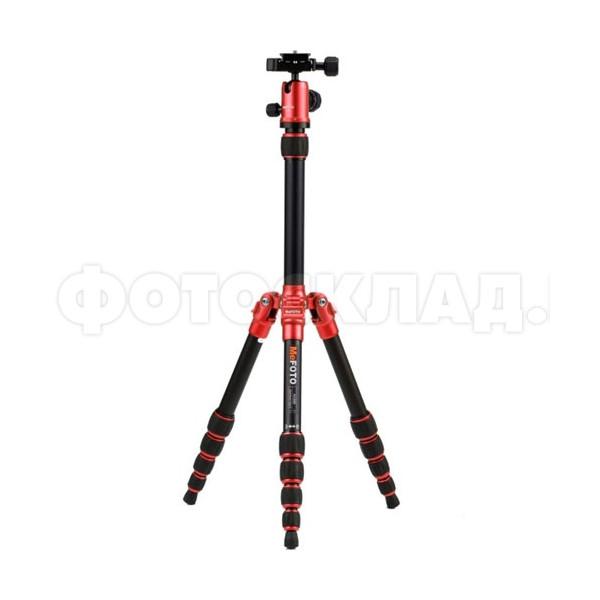 Штатив Benro A0350Q0/MeFoto алюминиевый сплав (с головой) красный