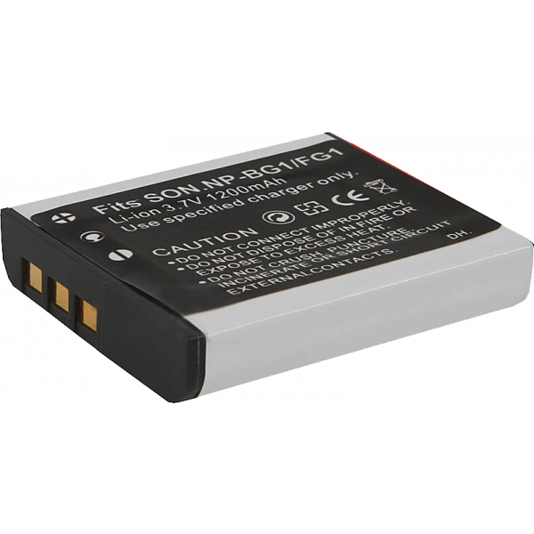 Аккумулятор Fujimi NP-BG1/FG1 для Sony Cyber-shot Dcs-H90, Hx9, Hx10, Hx20, Hx30, T110, Wx10