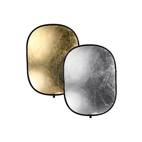 Отражатель Falcon Eyes RFR-4066GS золото/серебро 102x168 см