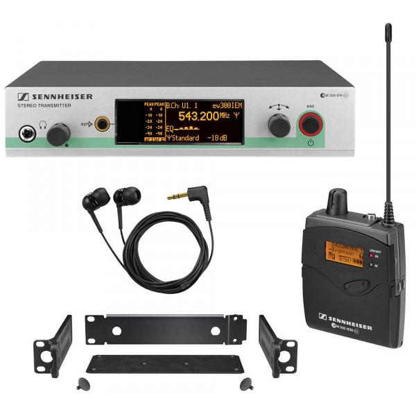 Беспроводная радиосистема Sennheiser EW 300 IEM G3-G-X