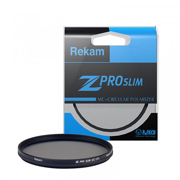 Поляризационный фильтр Rekam Z Pro Slim CPL MC 58mm