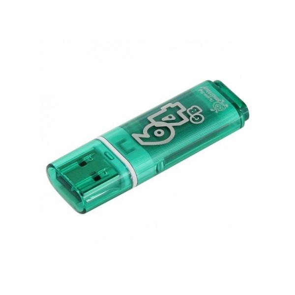 flash ���������� Smartbuy 64GB Glossy series Green