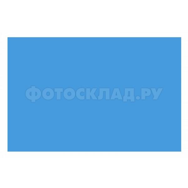 Фон бумажный Polaroid Light Blue Голубой 2.72x11 м