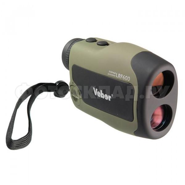 Лазерный дальномер Veber 6x25 LRF600 зеленый