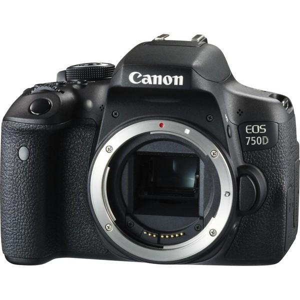 Зеркальный фотоаппарат Canon EOS 750D body (