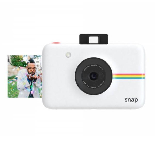 Моментальная фотокамера Polaroid Snap белая + 3 картриджа