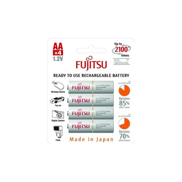 Аккумулятор Fujitsu HR-3UTCEX(4B) АА, 1900 мАч, 4 шт.