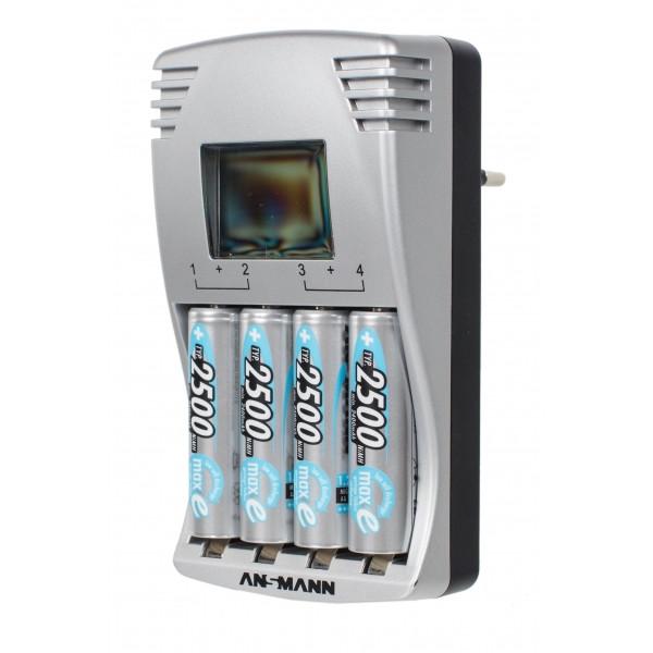 Зарядное устройство Ansmann Photocam IV + 4x AA 2500 mAh maxE plus