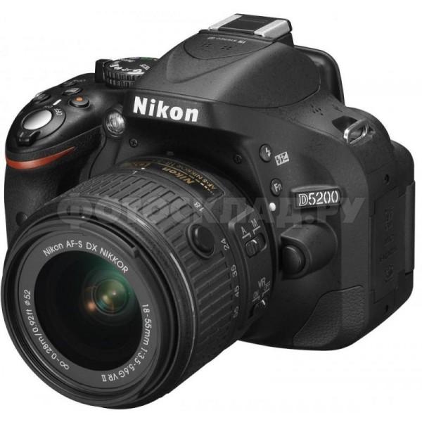 ���������� ����������� Nikon D5200 Kit 18-55 VR II