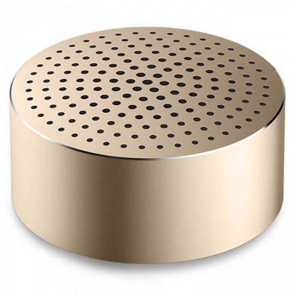 Портативная колонка Xiaomi Mi Portable Round Box, золотая