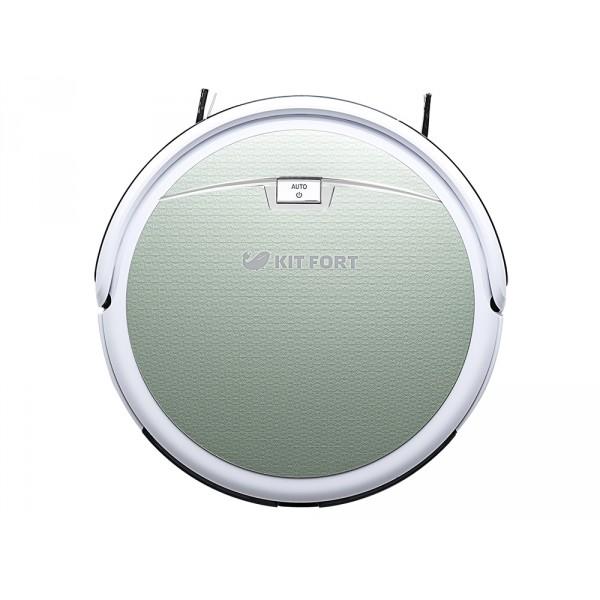 Робот-пылесос KITFORT KT-519 - 1 светло-зеленый