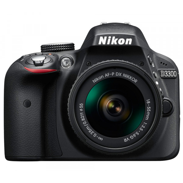 Зеркальный фотоаппарат Nikon D3300 Kit 18-55 VR AF-P