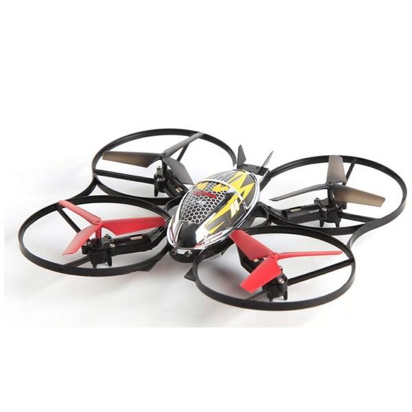 Квадрокоптер Syma Х4, черный с красным