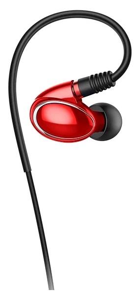 <b>Наушники FIIO FH1</b> красные купить в интернет-магазине ...