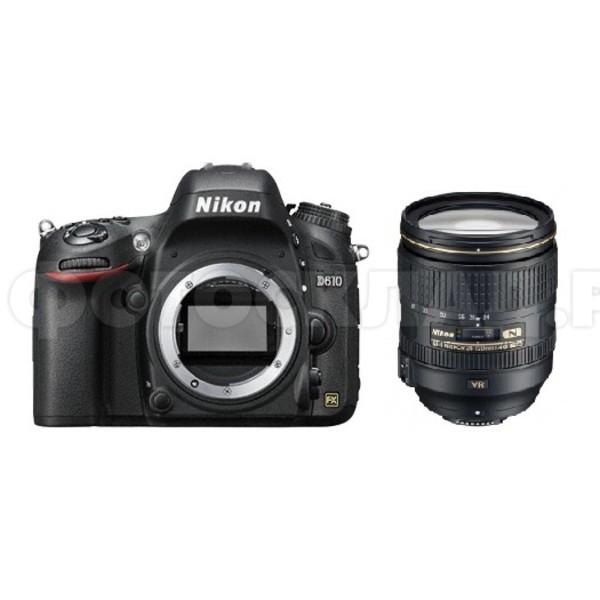 Зеркальный фотоаппарат Nikon D610 Kit 24-120 f/4G VR (