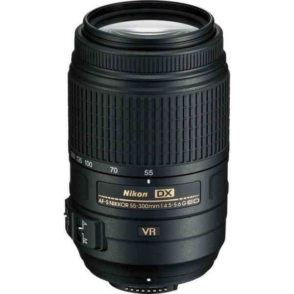 Nikon 55-300mm f/4.5-5.6G ED VR AF-S DX Zoom-Nikkor (