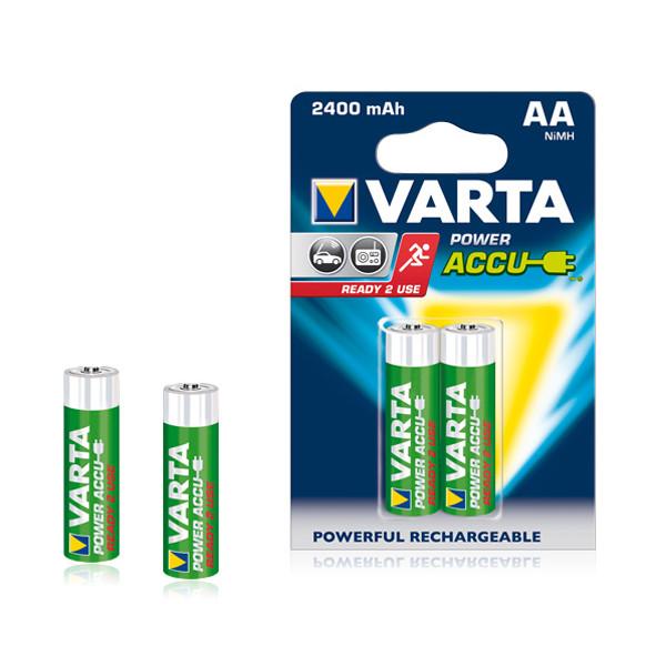 Аккумулятор Varta 56756.101.402 /R6 2400mAh Ni-MH BL2 Ready (2 шт)