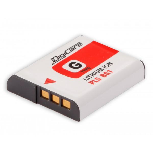 Аккумулятор DigiCare PLS-BG1 / NP-BG1/FG1 для DCS-H90, HX9, HX10, HX20, HX30, T110, WX10