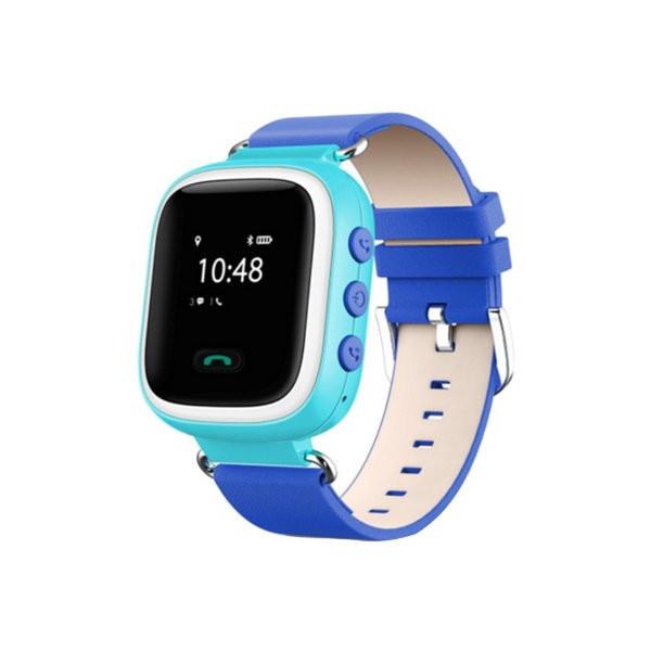 Детские умные часы Smart Baby Watch Q60, голубые