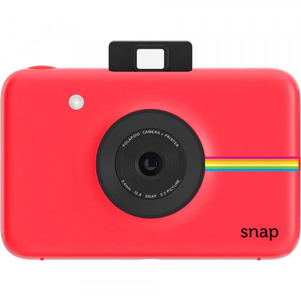 Моментальная фотокамера Polaroid Snap красная + 10 картриджей