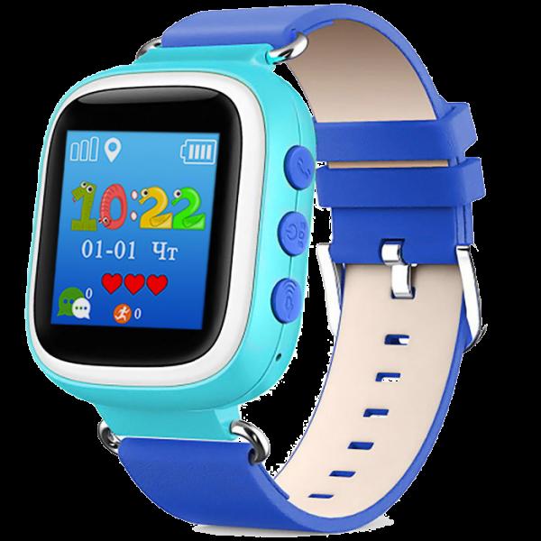 Детские умные часы Smart Baby Watch Q60S, голубые
