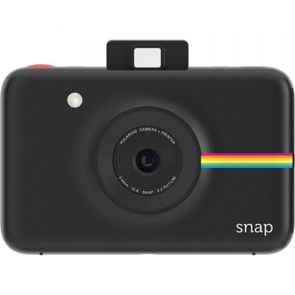 Моментальная фотокамера Polaroid Snap черная + 3 картриджа