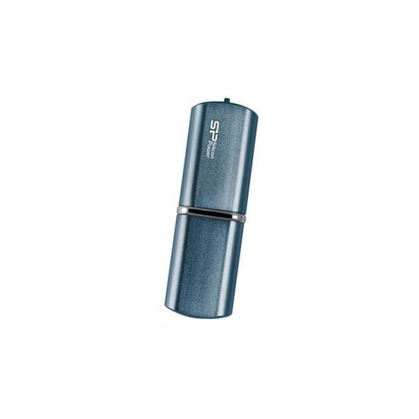 flash накопитель Silicon Power Luxmini 16GB (80X) 720 темно-синий