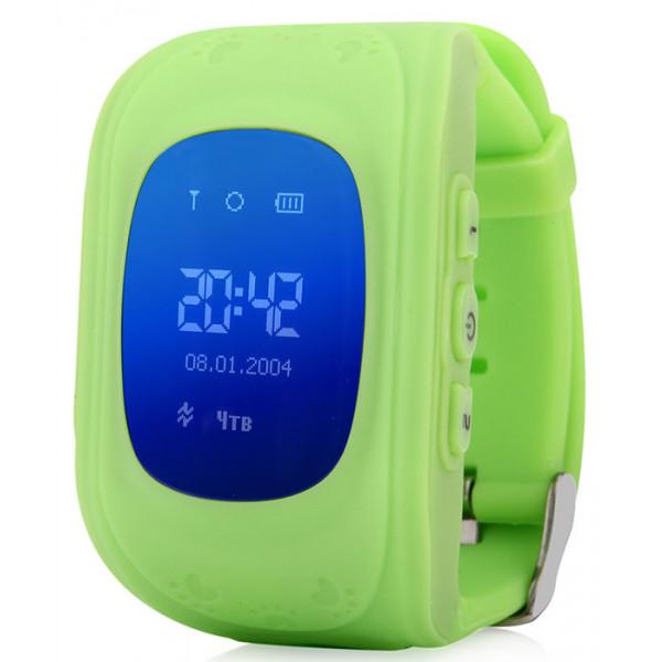 Детские умные часы Smart Baby Watch Q50, зеленые
