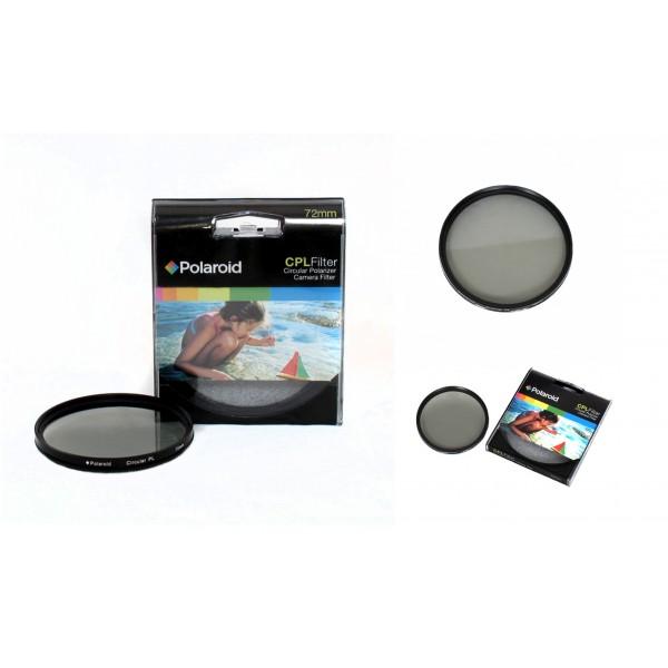 Поляризационный фильтр Polaroid CPL 82mm