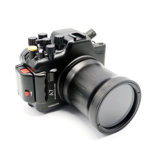 Подводный бокс Meikon A7 Kit + 16-35/24-240 для Sony A7 16-35/24-240mm алюминиевый