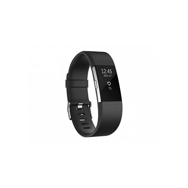Умный браслет Fitbit Charge 2, черный (S)
