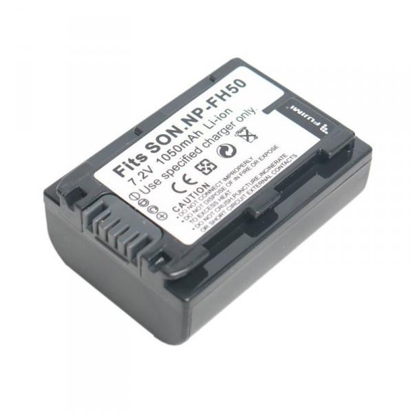Аккумулятор Fujimi NP-FH50 для Sony серия H (DSC-HX200, DSC-HX100V)