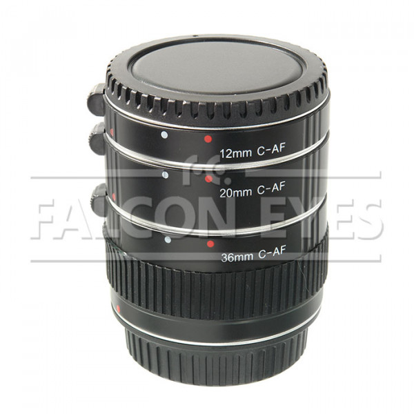Кольца удлинительные Falcon Eyes C-AF для макроc. с подд. автоф. для Canon