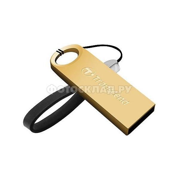 flash накопитель Transcend JetFlash 520S 16Gb золото