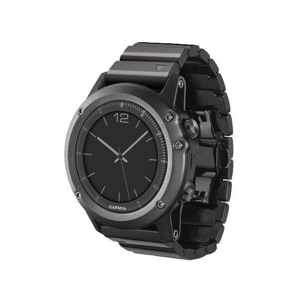 Умные часы Garmin Fenix 3 Sapphire с металлическим ремешком