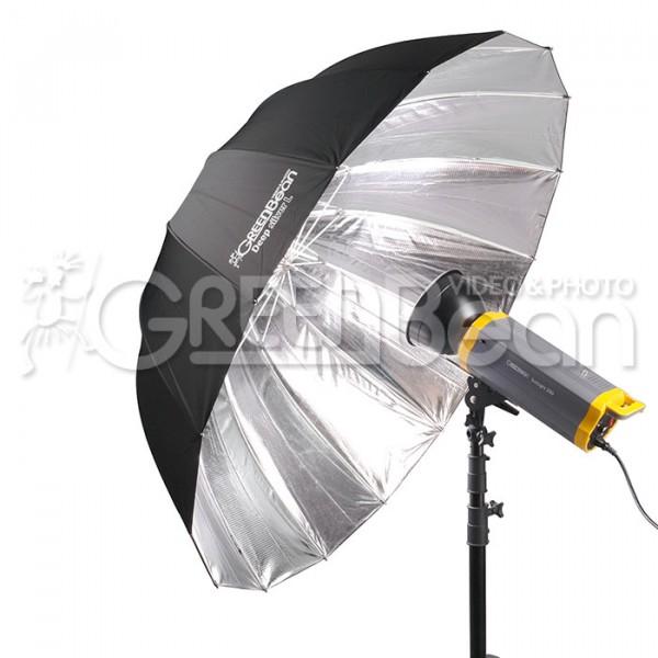 Зонт-отражатель GreenBean Deep silver L 130 см