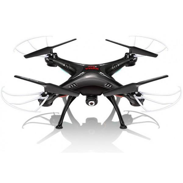 Квадрокоптер Syma X5SW с трансляцией видео, черный
