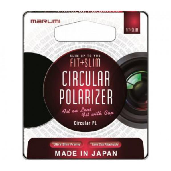 поляризационный фильтр Marumi FIT+SLIM Circular PL 55mm