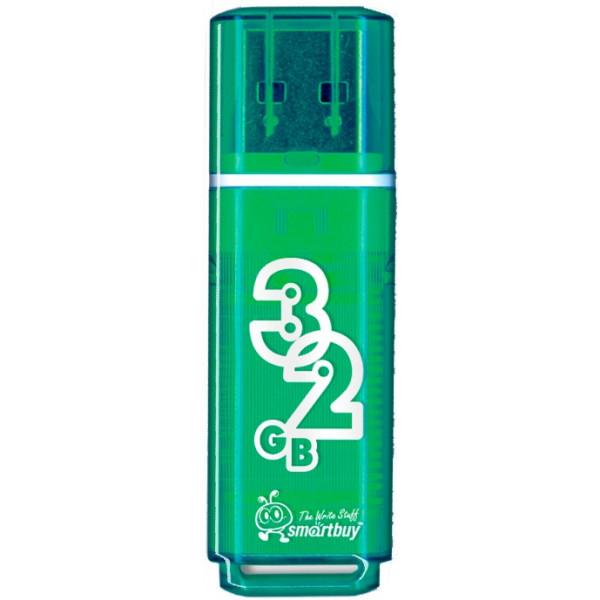 flash накопитель Smartbuy 32GB Glossy series Green