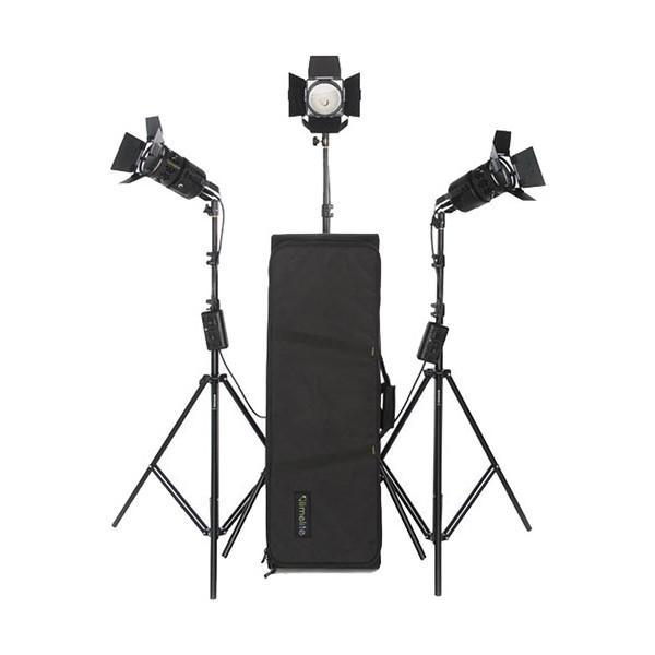 Комплект галогенных приборов Bowens Limelite Pixel VB1250EUR