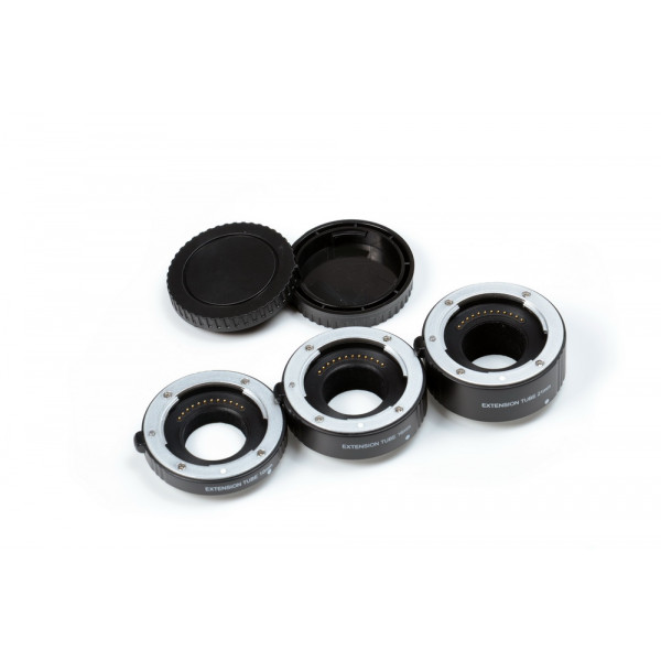 Набор удлинительных колец Flama FL-NM47A AF для макросъемки на Nikon 1 (алюминий)
