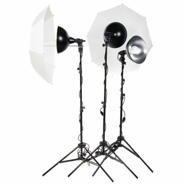 Комплект постоянного света Lumifor MACRO-1500-3UU KIT