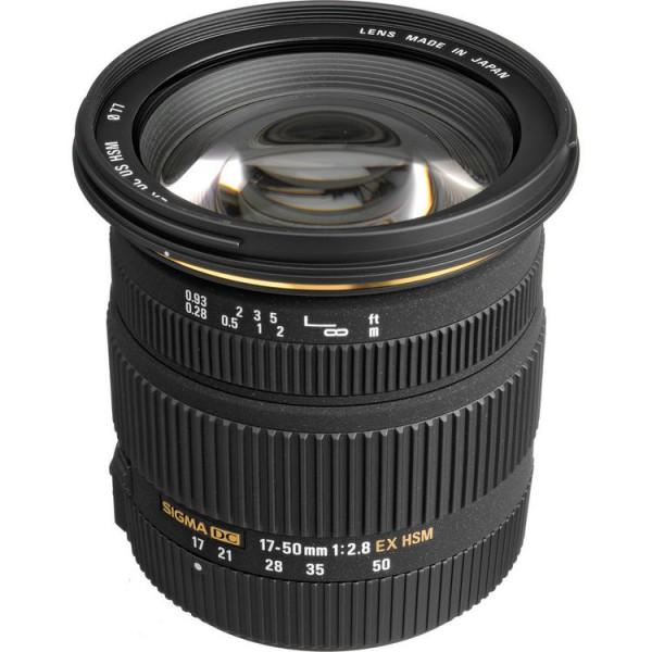 Sigma AF 17-50mm f/2.8 EX DC OS HSM Canon EF-S