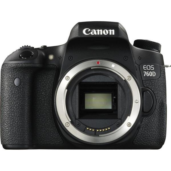 Зеркальный фотоаппарат Canon EOS 760D body (