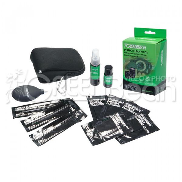 Набор для чистки оптики GreenBean Perfect Clean KIT-02