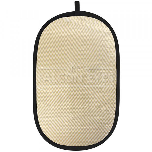Отражатель Falcon Eyes RFR-2844M золотисто-серебристый в полоску 71x112 см
