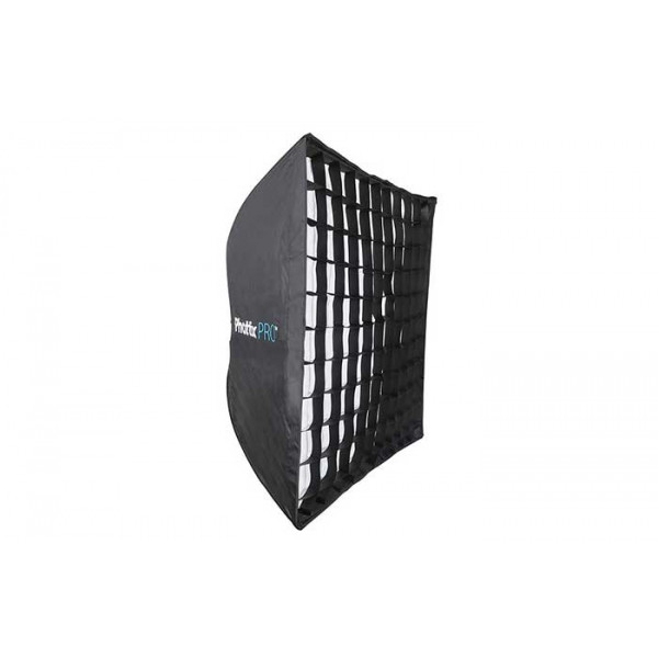 Быстроскладной софтбокс Phottix Pro Easy Up HD Umbrella Softbox с сотами 90х90 см