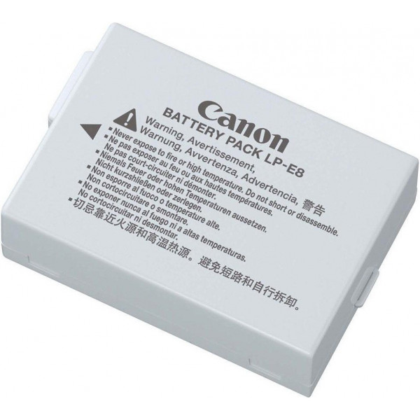 Аккумулятор Canon LP-E8 для EOS 600D, 650D, 700D